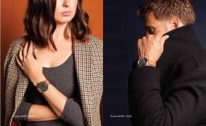 Woman and man wearing Tokyobay watches